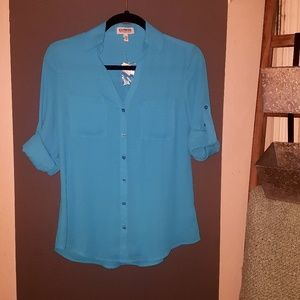 Turquoise Express The Portofino Shirt NWT